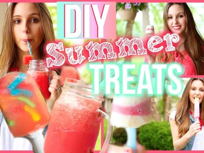 DIY Frozen Summer Treats! Easy & Inexpensive