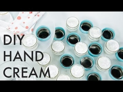 DIY Hand Cream to Avoid Dry, Chapped Hands This Winter