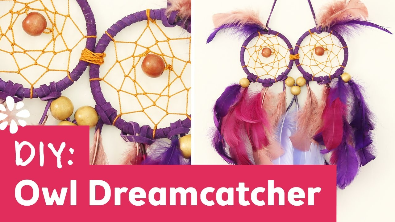 DIY Owl Dreamcatcher