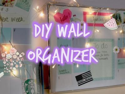 DIY Wall Organizer. Calendar