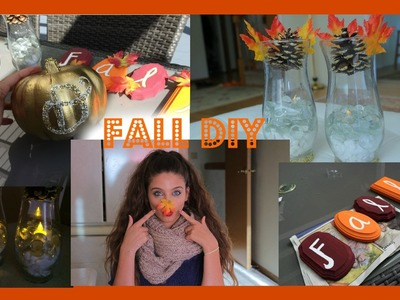 EASY & CHEAP FALL DIY :)
