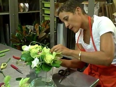 Florists New York - Katrina Parris Designing Floral Arrangements for Flower Delivery in New York