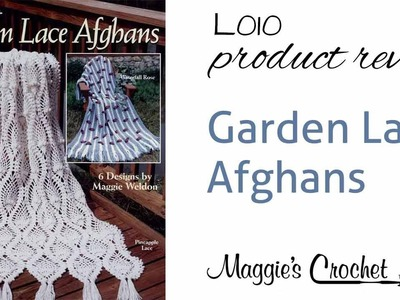 Garden Lace Afghans Crochet Pattern Product Review L010