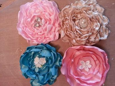 GORGEOUS fluffy flower tutorial