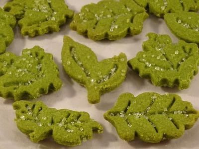 Green Tea (Matcha) Shortbread Cookies- with yoyomax12