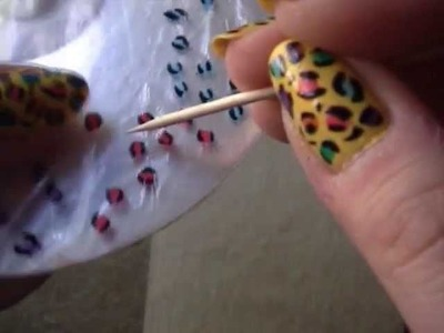 Home made nail stickers
