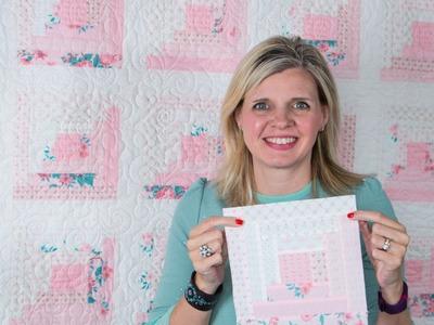 Hope Blooms Quilt Block Pattern - Classic & Vintage Series - Fat Quarter Shop