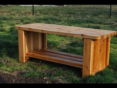 How to Make a Fire Pit Bench (woodlogger.com)