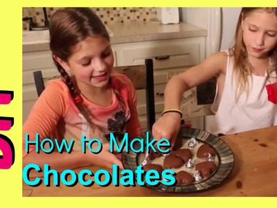 How to Make Homemade Chocolates DIY | Easy No Bake Chocolate Hearts | Father's Day Gifts