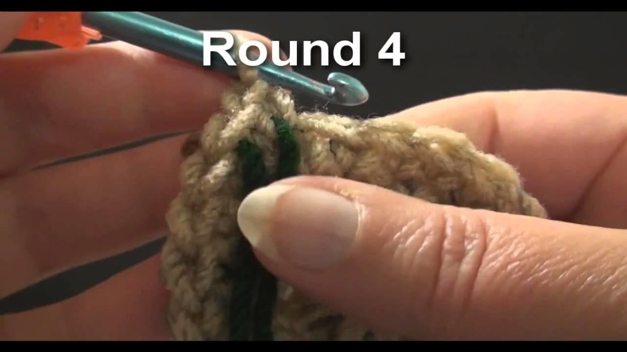 Left hand crochet left hand large size beanie cap for a man crochet geek