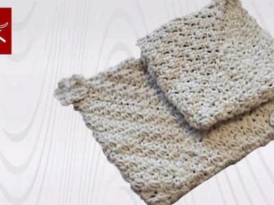 Magic Double Thick Potholder - Crochet Geek