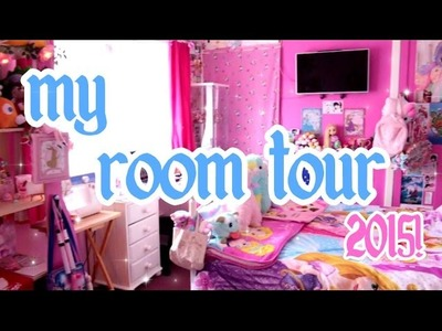 ♡ My Kawaii Disney-fied Room Tour 2015~! ♡ | Abigailm28