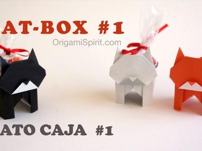 Origami Cat-Box #1 :: Gato Caja