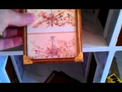 Part 14 hints and tips on decorating a dollhouse - Home made dado rail.