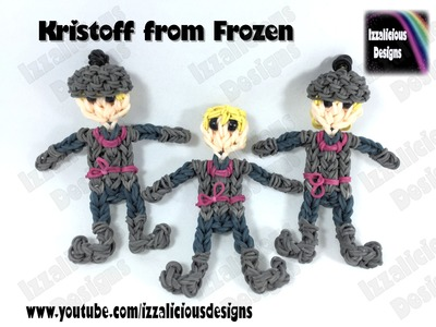 Rainbow Loom - Kristoff from Frozen Action Figure.Charm.Doll