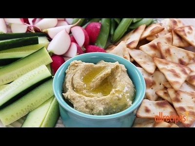 Snack Recipes - How to Make Hummus