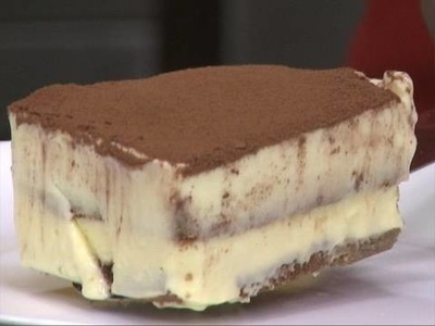 Valentines Tiramisu Cheese Cake ( Indian style)- By Vahchef @ Vahrehvah.com