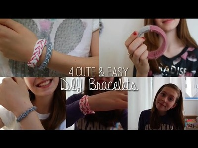 4 Easy & Cute DIY Bracelets