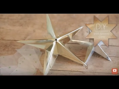 DIY: Christmas decorations star by Søstrene Grene