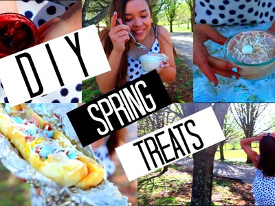 DIY EASY Spring Inspired Treats!