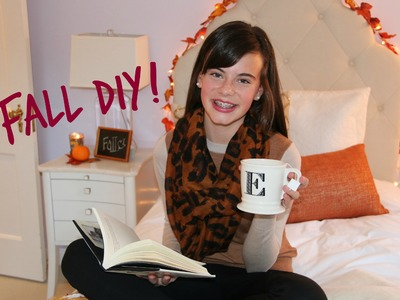 DIY Fall Room Decor, Sweet Treat, & Easy Ways To Cozy Up Your Room!