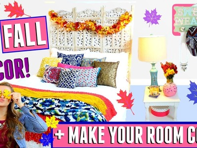 DIY Fall Tumblr Room Decor for Cheap! + Easy Tips On How To Make Your Room Cozy! ♡ | Jessica Reid