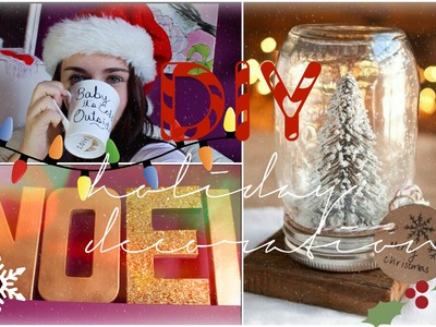 DIY | Holiday decorations ❆