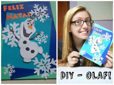 DIY - Olaf Christmas Card