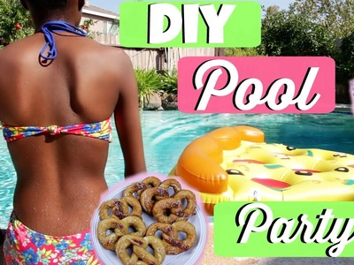 DIY Pool Party Treats & Essentials | Tashalala