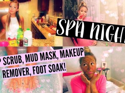 DIY Spa Night! Lip Scrub, Mud Mask, Makeup Remover, etc! ☼
