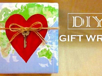 DIY Valentine Gift Wrap