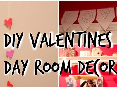 DIY Valentines Day Room Decor ♡