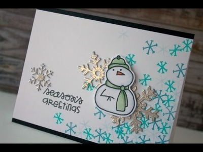 Holiday Card Series 2014 Day #23 - Paper Smooches + My Favorite Things