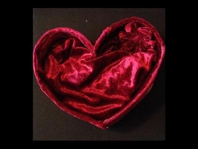 How To Make a DIY Heart Box