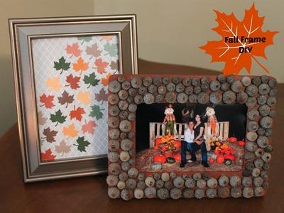 Inexpensive Fall Frame DIY