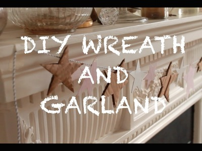 Last Minute DIY Wreath and Garland | Lily Lucia