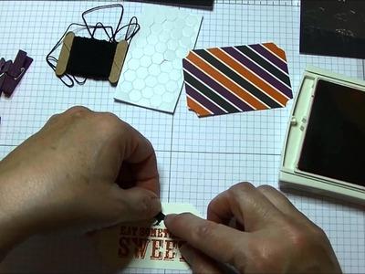 Stampin' Up! My Paper Pumpkin October Treat Bags