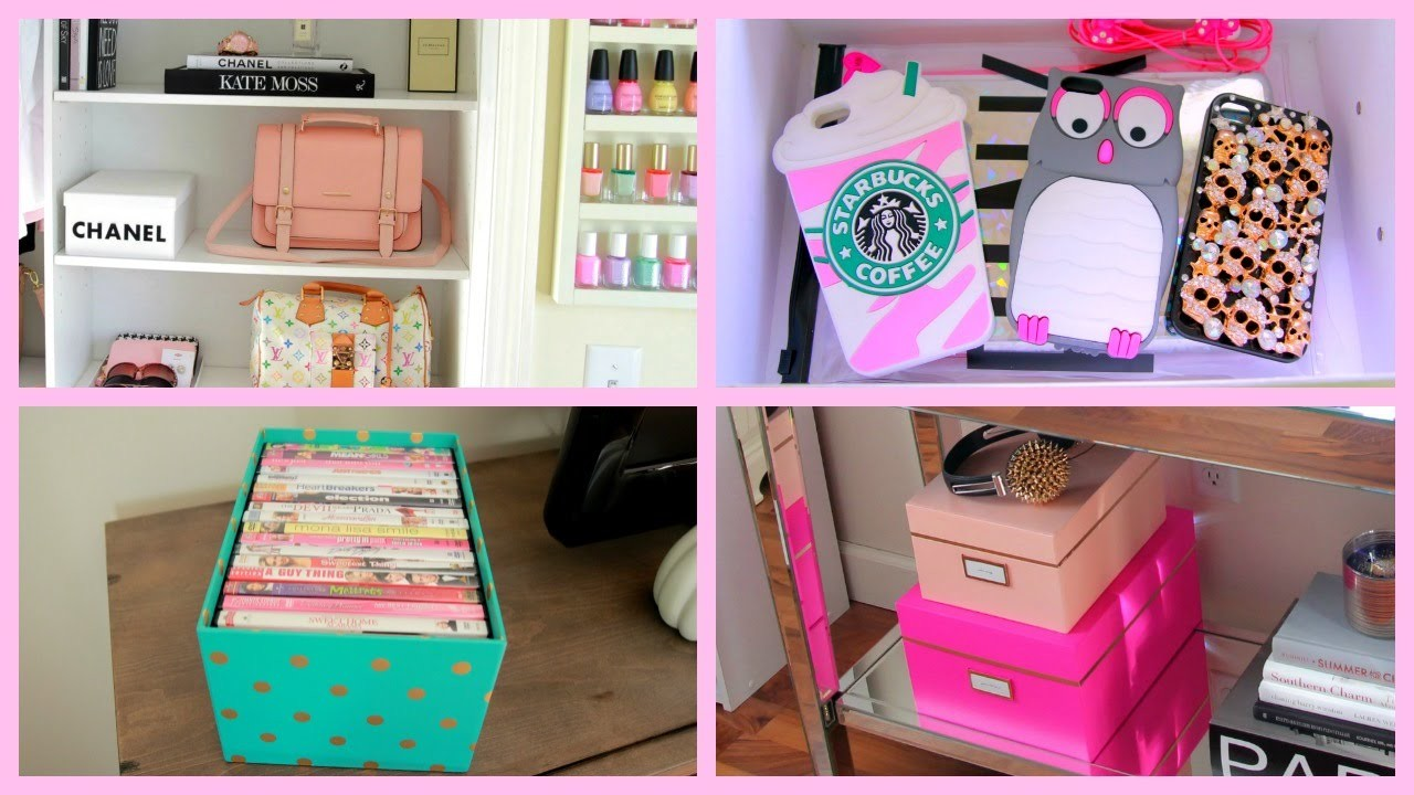 Storage & Organization Ideas + DIY Chanel Box