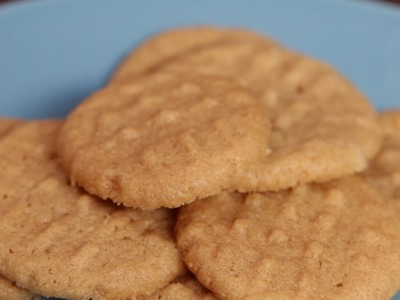 3-Ingredient Peanut Butter Cookies You Need To Try
