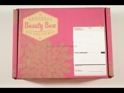April 2015 Handmade Beauty Box Review – DIY Delivered + $10.00 Coupon