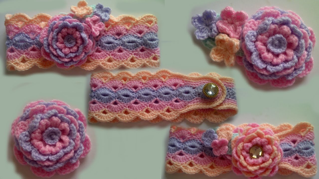 Crochet for Beginners: Large Crochet Flower Pattern Part 2