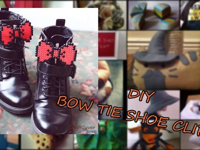 DIY  Bow Tie Shoe Clips