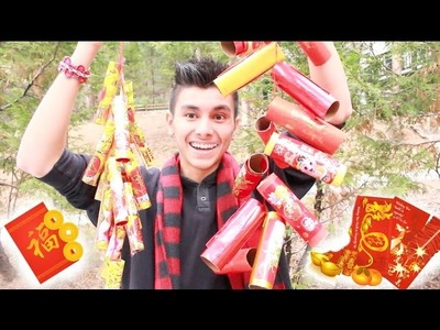 DIY Chinese New Year Firecrackers