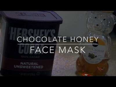 DIY Chocolate Honey Face Mask for Acne!