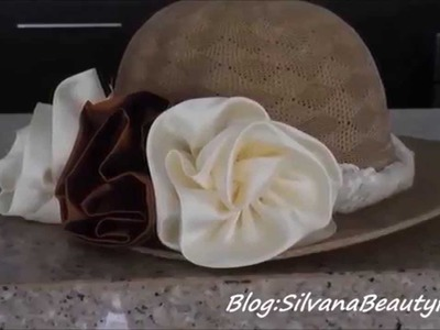 DIY COMO DECORAR UN SOMBRERO VINTAGE. HOW TO DECORATE A HAT VINTAGE