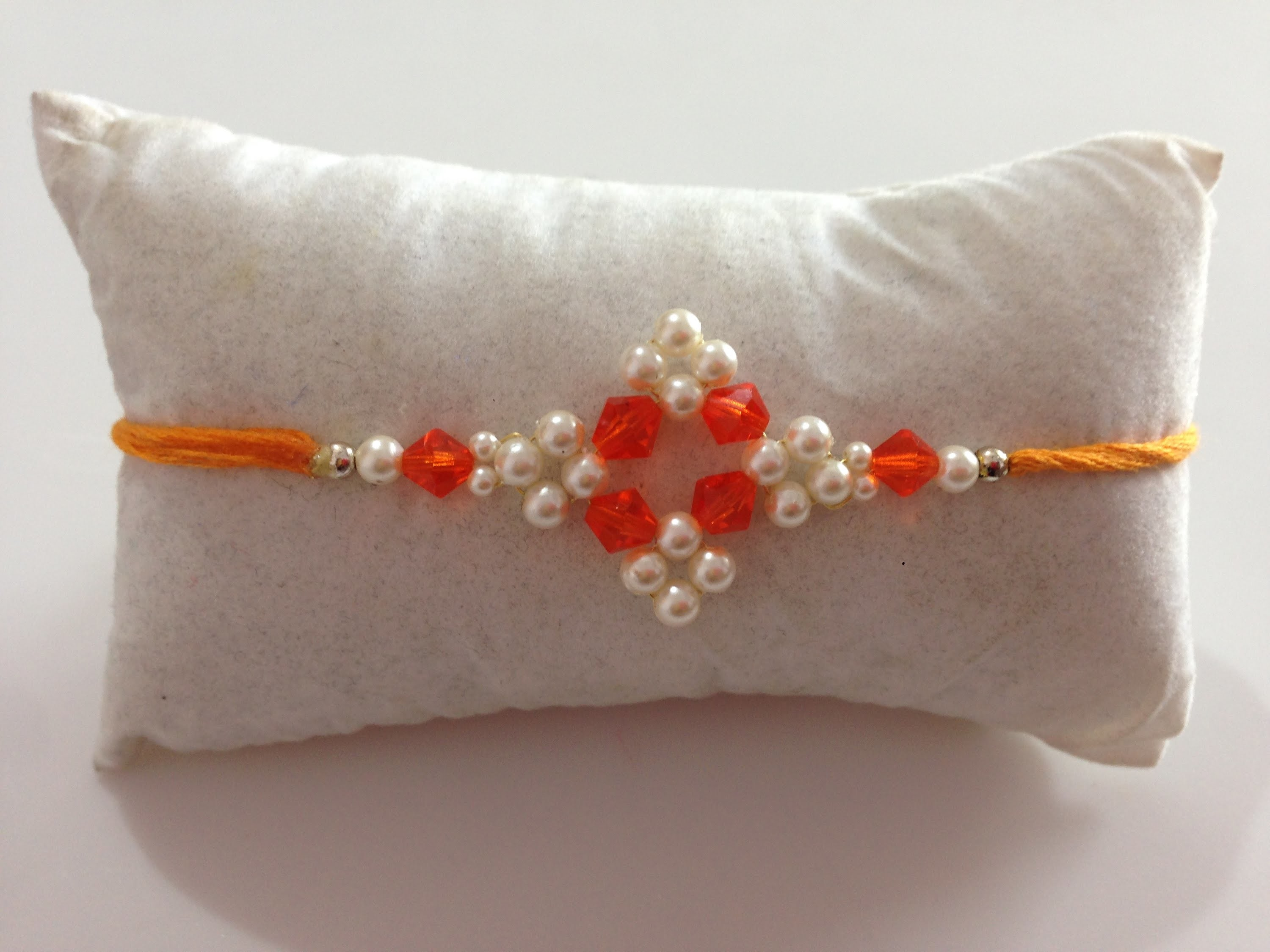 DIY-crystal rakhi  |  How to make rakhi at home  |