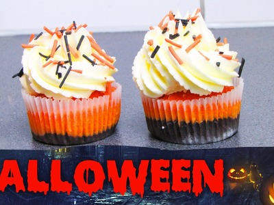 DIY HALLOWEEN BROWNIE CUPCAKES | HALLOWEEN SPECIAL COLLAB VIDEO