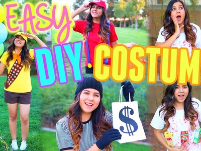 DIY Last Minute Halloween Costumes! Easy & Cheap! 2015