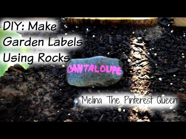DIY: Make Garden Labels Using Rocks