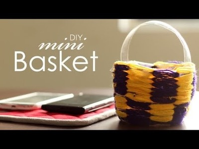 DIY : Mini Basket